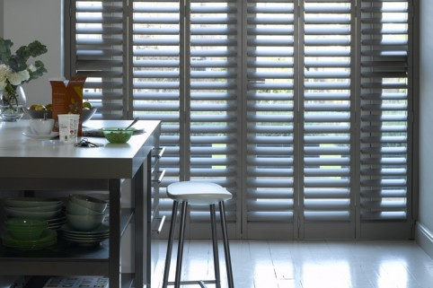 California Shutters Kitchen
