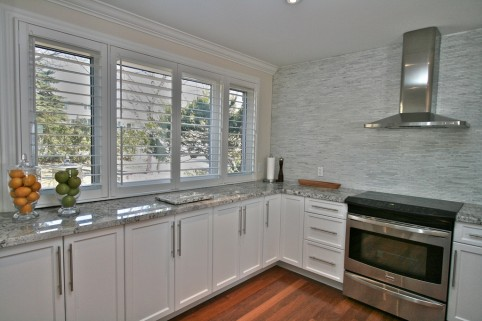 Kitchen Custom Wood Shutters Ontario