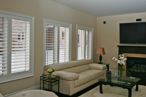Custom Wood Shutters Inside Niagara Falls