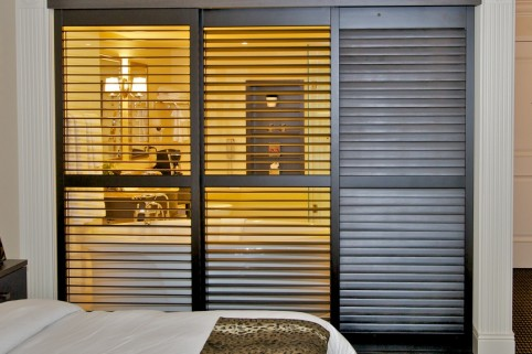 Louvered Doors Bathroom