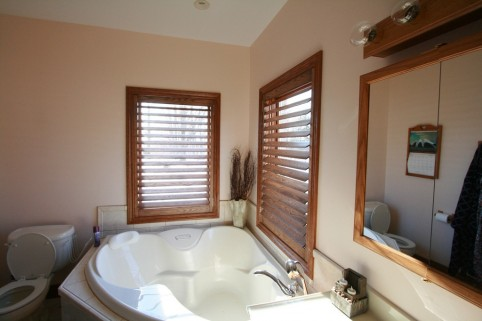 Interior Shutters Toronto Bathroom