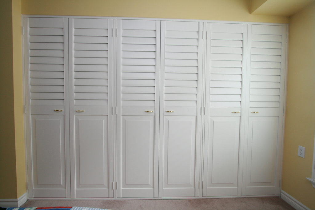 Louvered Doors In Burlington Oakville Toronto Canada