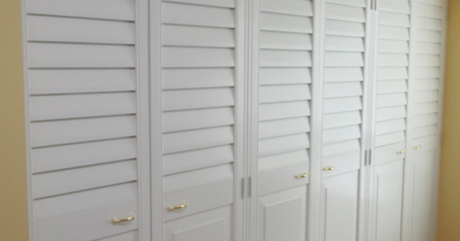 Louvered Closet Doors In Burlington Oakville Toronto